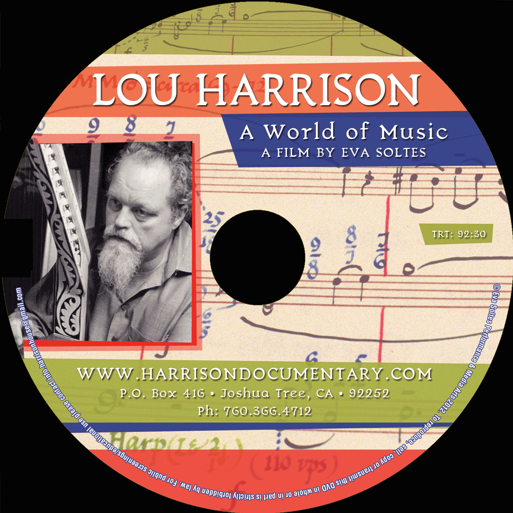"""Lou Harrison: A World of Music"" DVD"
